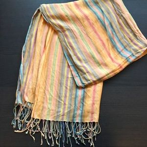 Colorful scarf from Spain
